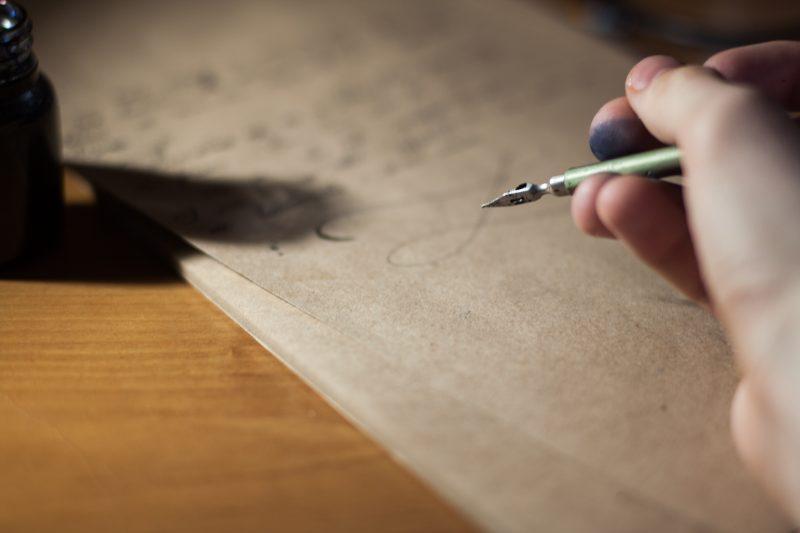 surat, writing