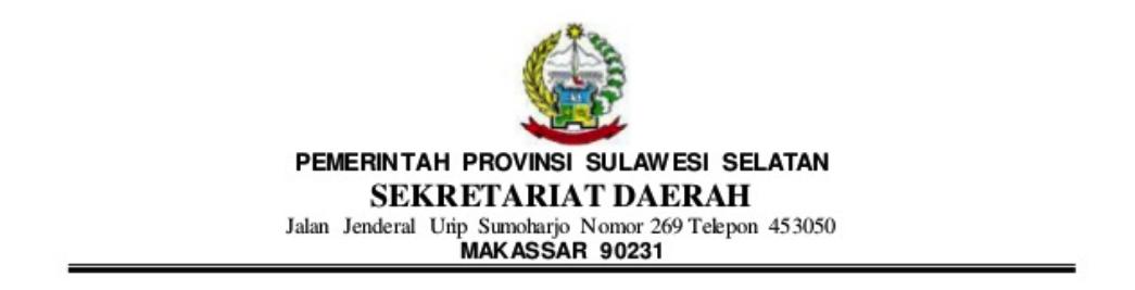 contoh kop surat pemerintah
