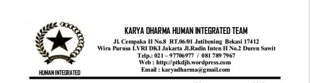 contoh kop surat perusahaan