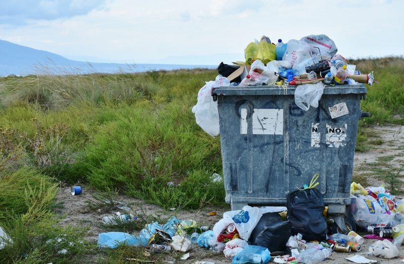 timbunan sampah